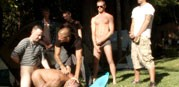 Horny Men At Campground from Bound In Public