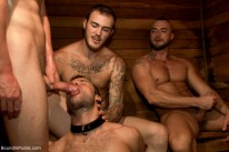 Bathhouse Gang Bang from Bound In Public