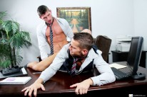 Shanes Asshole Fuck from Office Cock