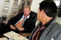 Aj Get His Asshole Ironed from Office Cock