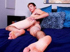 Caleb Reece Busts A Nut from College Dudes