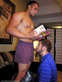Omar Gets Head from New York Straight Men