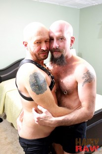 Snake And Buster from Hairy And Raw
