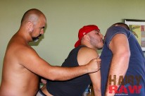Kurt Rafael And Tony from Hairy And Raw