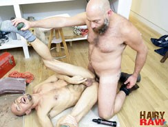 Parker Boyd And Sailor from Hairy And Raw