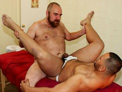 Dj Russo And Tyler Ruger from Hairy And Raw