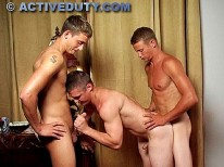 Chance Gage And Spencer from Active Duty