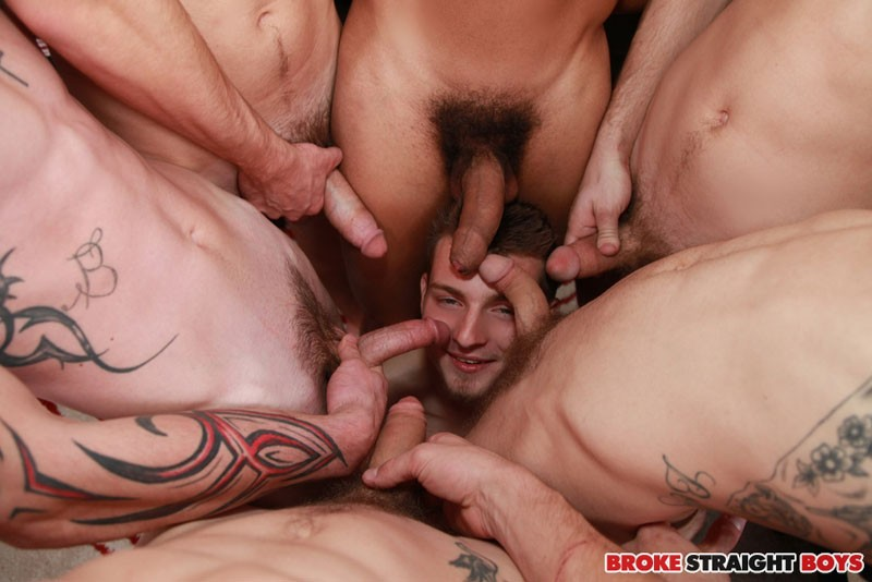 Straight lads and naked sportsmen gay with