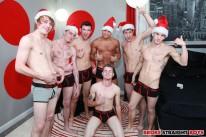 Bukake For The Holidays from Broke Straight Boys