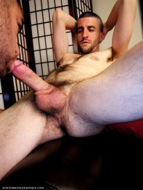 A Mouth Full For Christian from New York Straight Men