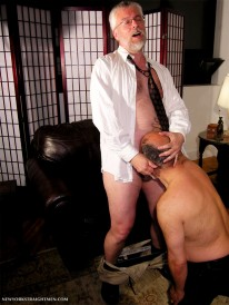 The Professor And His Manserv from New York Straight Men
