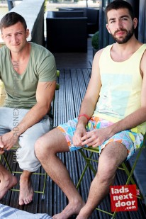 Neil And Damian from Lads Next Door