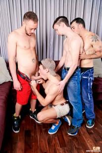 4 Boys 4 Cocks from Circle Jerk Boys