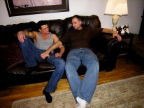 Paulie A Bud from New York Straight Men