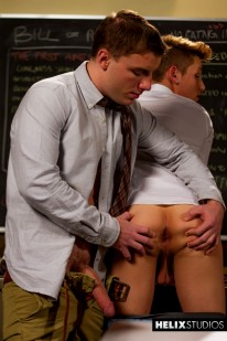 Scandal At Helix Academy Iv from Helix Studios