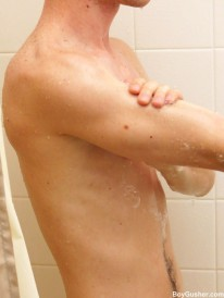 Showering Jacob from Boy Gusher
