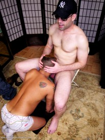 Swallowing Nolans Load from New York Straight Men