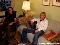 Brett Teases Bobby from New York Straight Men