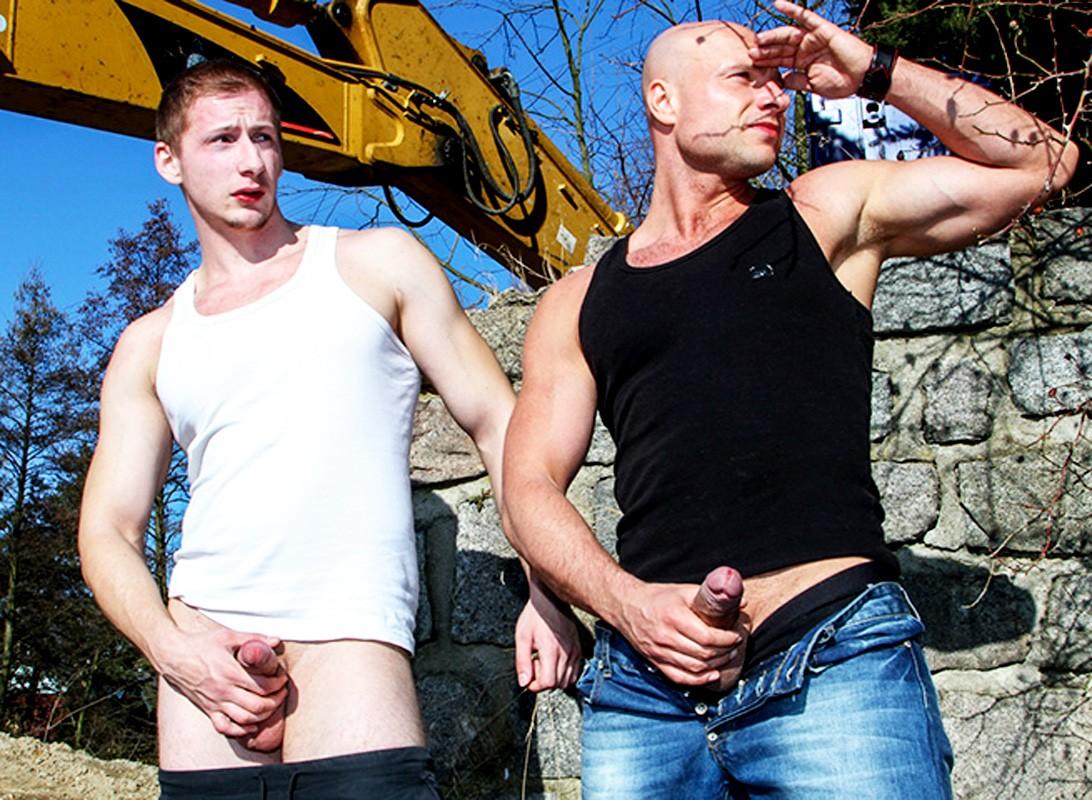 men at anal work