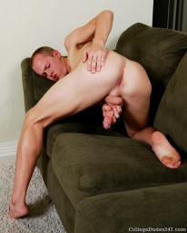 Clay Hanson Busts A Nut from College Dudes