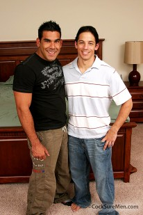 Nick Marino And Joey Milano from Cocksure Men