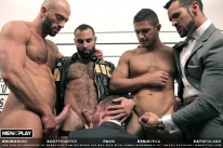The Line Up from Men At Play