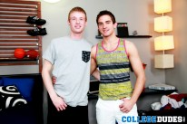 Troy Taylor Tops Brody Hamilt from College Dudes