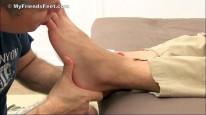 Neds Socks Bare Feet Worship from My Friends Feet