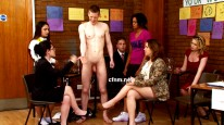 Mummys Boy from Clothed Female Nude Male