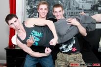 Ayden Dakota And Damien from Broke Straight Boys