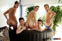 Five Dicked Suck And Fuck from Staxus