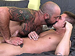 Scotty Rage And Cody Avalon from Hot Dads Hot Lads