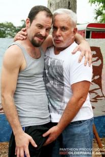 Kidd Manleigh And Steve Lucas from Hot Older Male