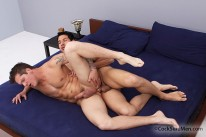 Leo Giamani And Parker London from Cocksure Men