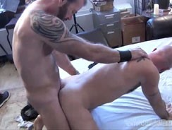 Up Ricks Butt from New York Straight Men