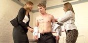 The Office Thief from Clothed Female Nude Male