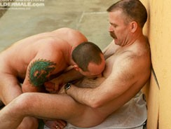 Robert Black And David Teal from Hot Older Male