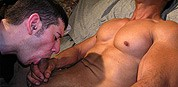 Blowing Leo from New York Straight Men