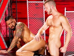 Brian Bonds And Boomer Banks from Raging Stallion