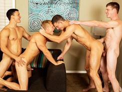 Four Way Part 1 from Sean Cody