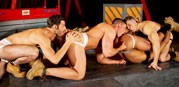 Dario David Derek And Seb from Raging Stallion