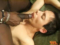 White Twink Rides Black Cock from Black Seducer
