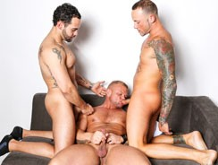 Marxel Alejandro And Daxton from Men Over 30