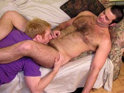 Servicing Dean Head To Toe from New York Straight Men