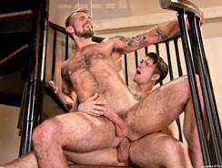 Sebastian Kross And Chris Ha from Raging Stallion