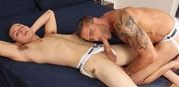 Jake Genesis And Jimmy Roman from Cocksure Men