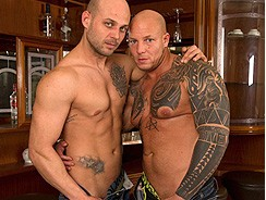 Joe Justice And The Devil from Uk Naked Men