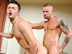 Darren Robbins And Justi from Hard Brit Lads