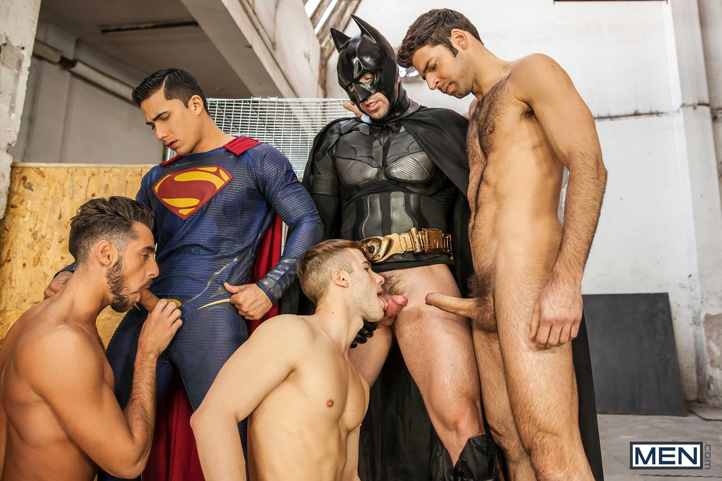 Batman V Superman Gay Porn From Super Gay Hero At -8767