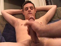 Jacking Off Gunner Raines from Defiant Boyz